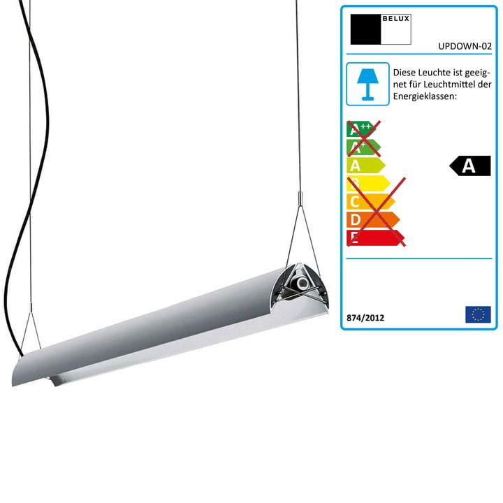 Updown pendel, justerbare vinger, 36 W, uden lysdæmper
