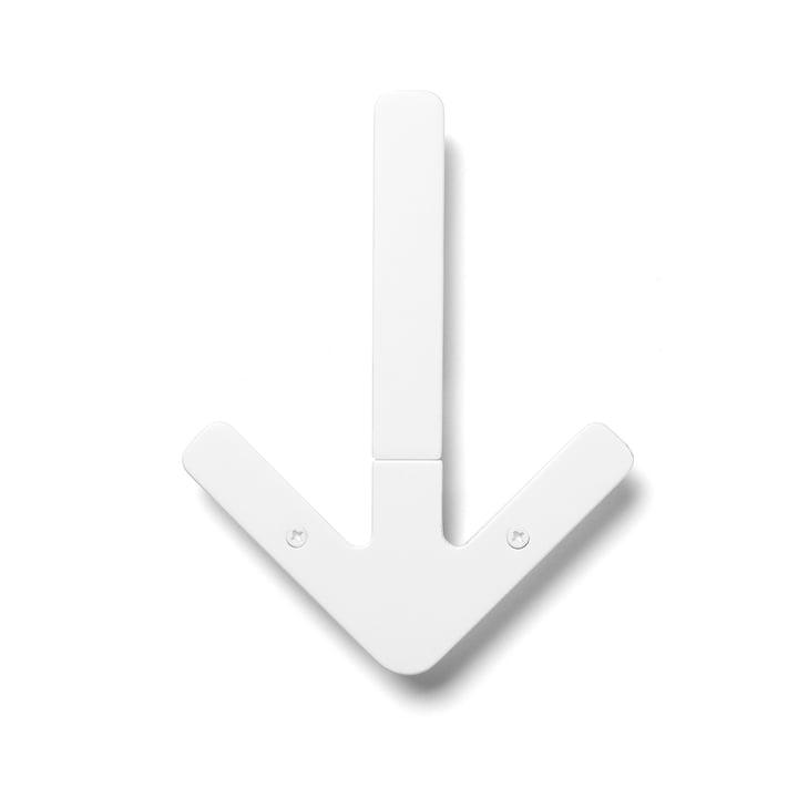 Arrow Hanger krog, hvid