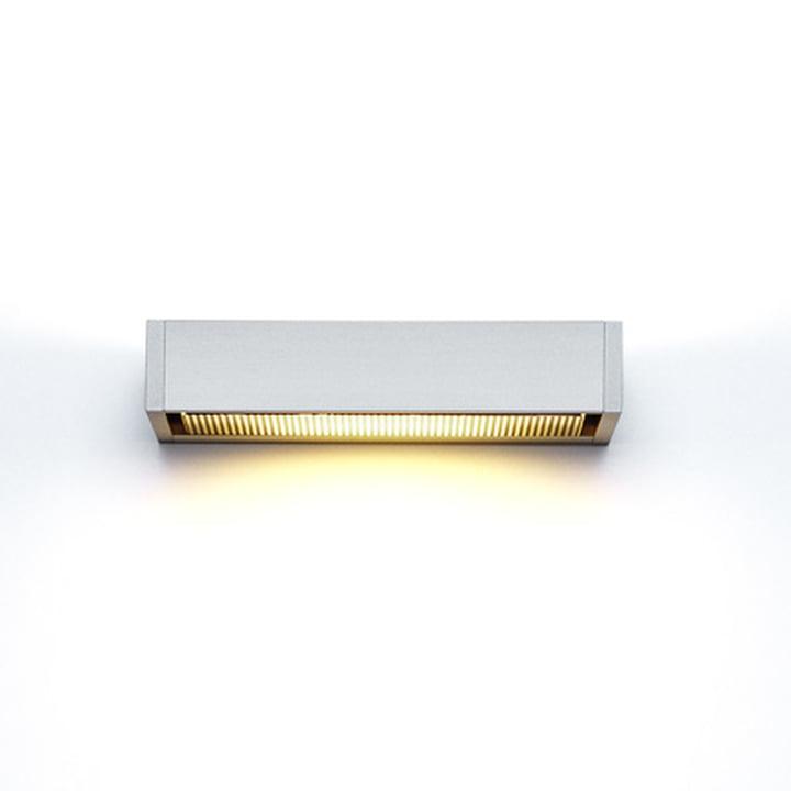 serien.lighting – SML væglampe, sølvanodiseret, mellem