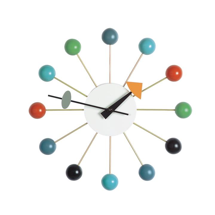 Ball Clock, flerfarvet