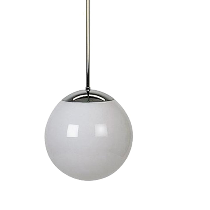 Tecnolumen HL99 pendel – metal/krom, Ø 30 cm (maks. 100 W)