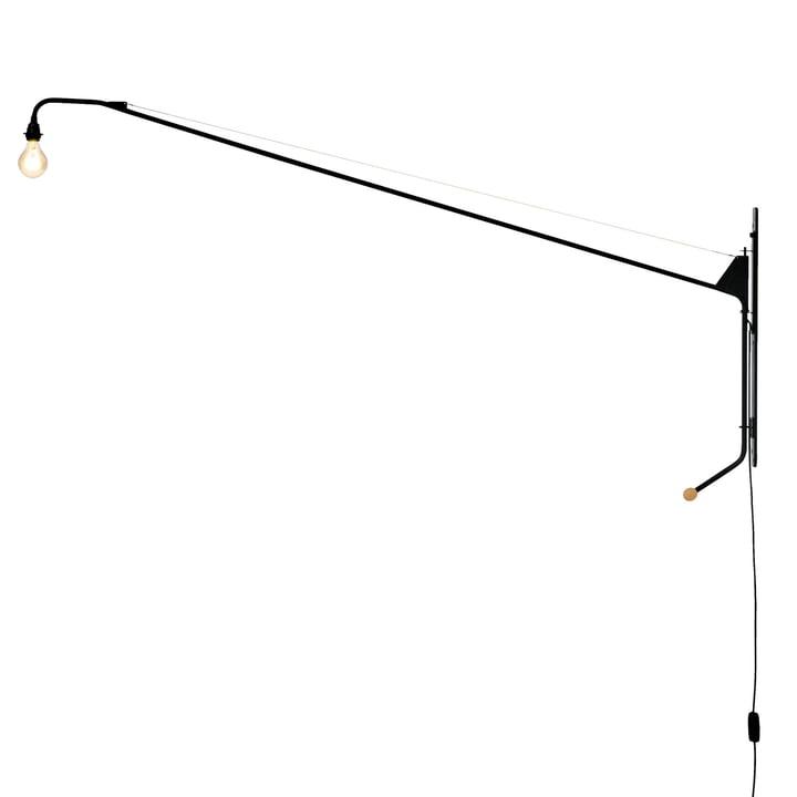Vitra – Potence væglampe i sort