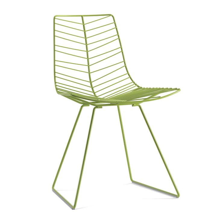 Arper Leaf stol, grøn