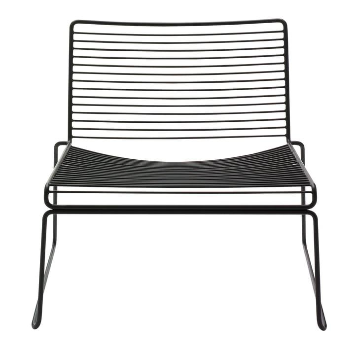 Hee loungestol fra Hay i sort
