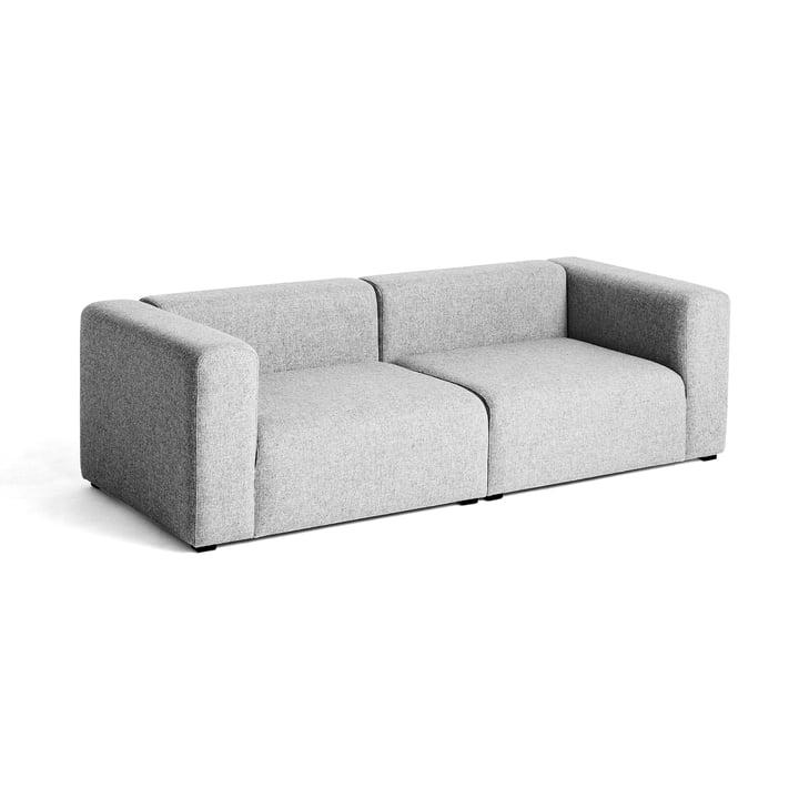 Hay – Mags sofa, 2 1/2-personers, lysegrå