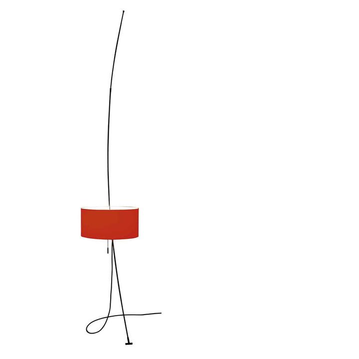 Totora lampe rød