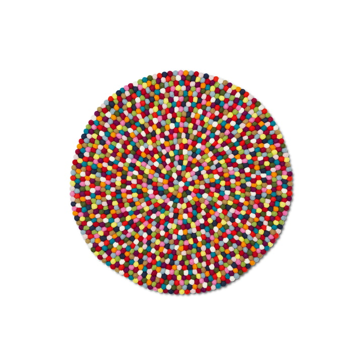 Hay Pinocchio tæppe, flerfarvet, 90 cm