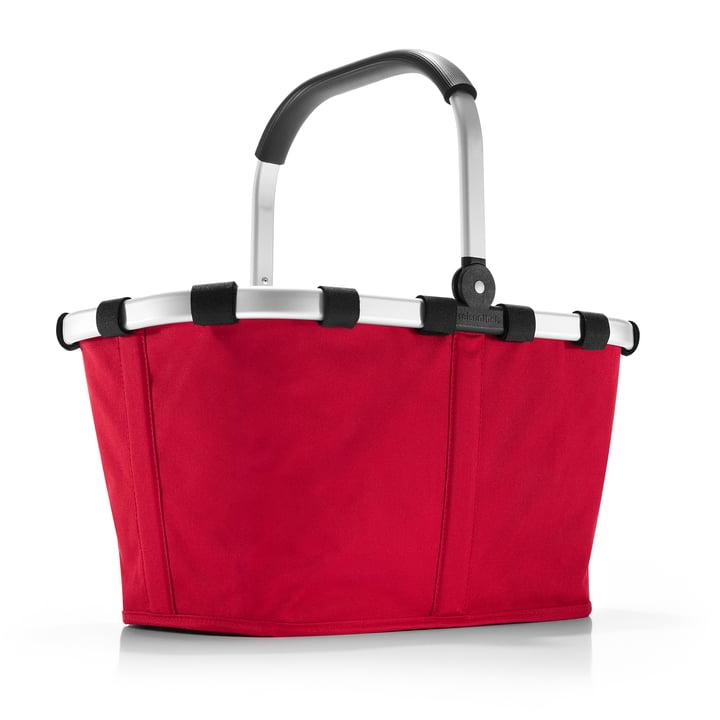 kuffert med rejenthel i rødt