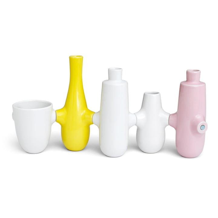 Kähler Design – Fiducia vaser/lysestager (sæt med 5)