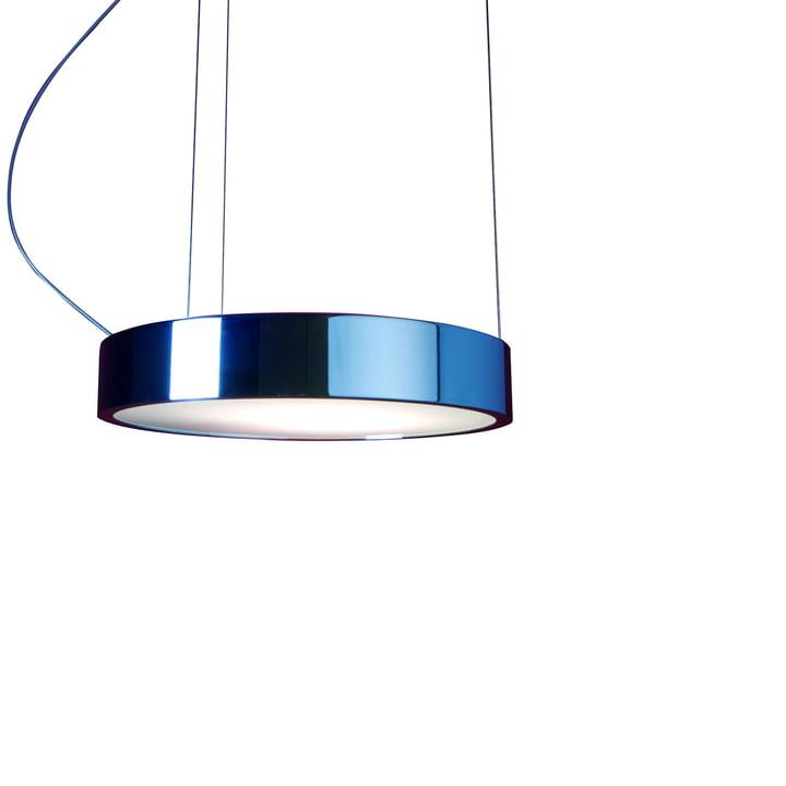 Aluring lampe, stor, forkromet
