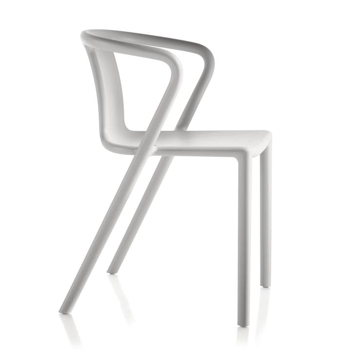 Air-Lænestol af Magis i hvid