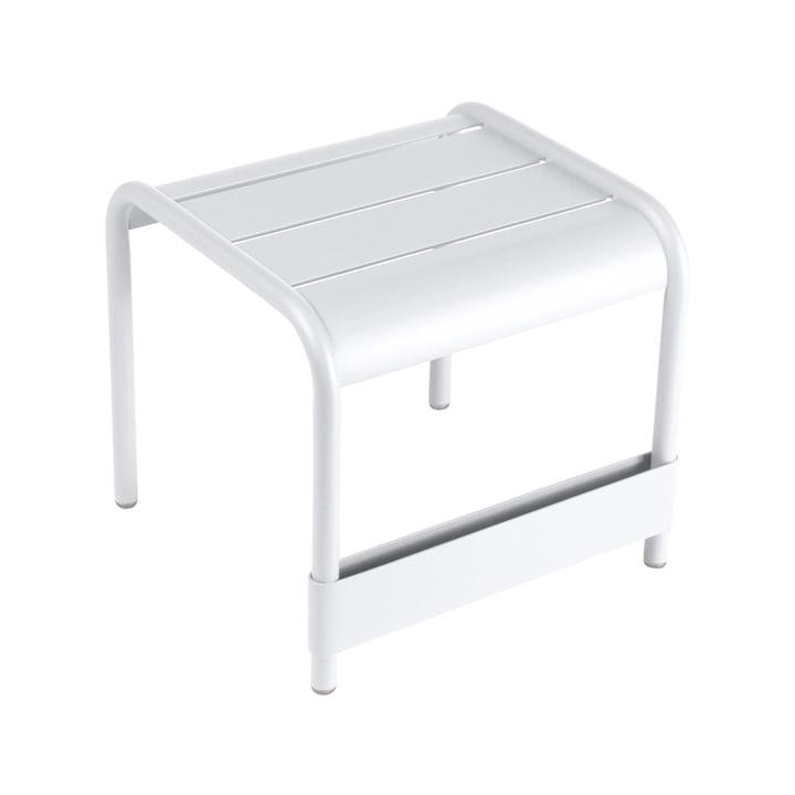 Fermob Luxembourg lavt bord/fodskammel, hvid