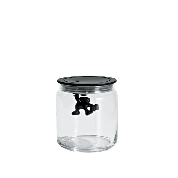 A di Alessi – Gianni køkkenkrukke, 70 cl, sort