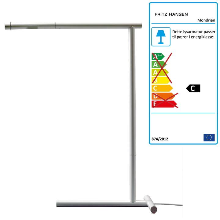 Lightyears – Mondrian bordlampe, hvid