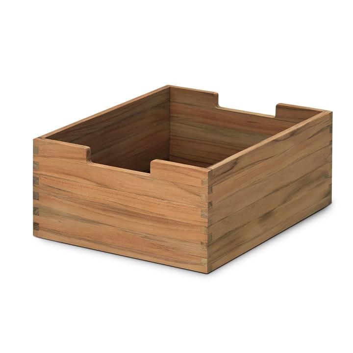 Skagerak – Cutter kasse, teak, lille