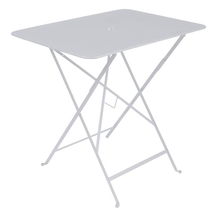 Fermob – Bistro klapbord, rektangulært, 77 x 57 cm, bomuldshvid