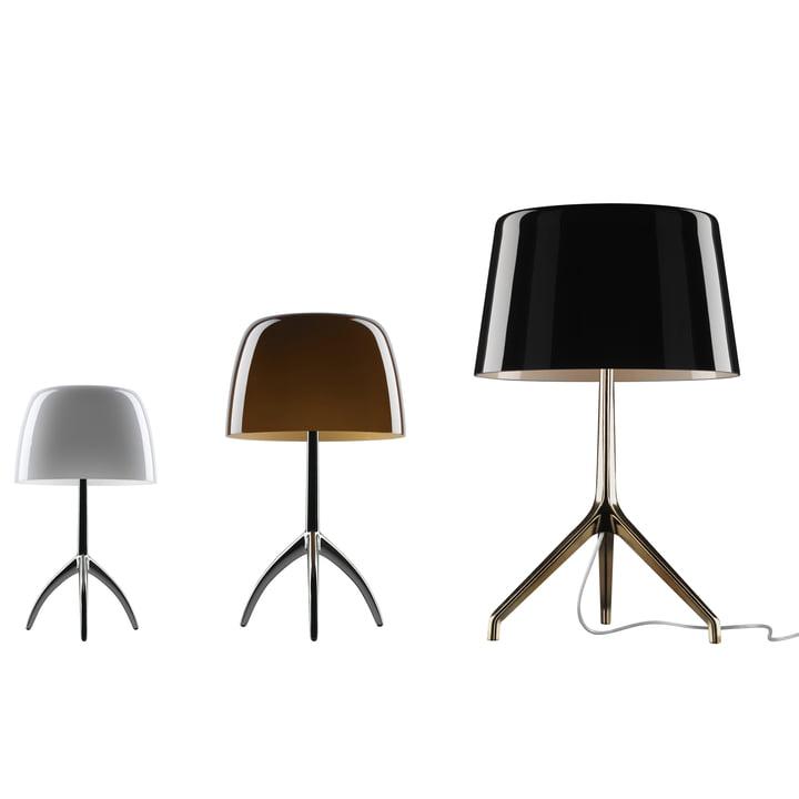 Lumiere bordlampe, mål