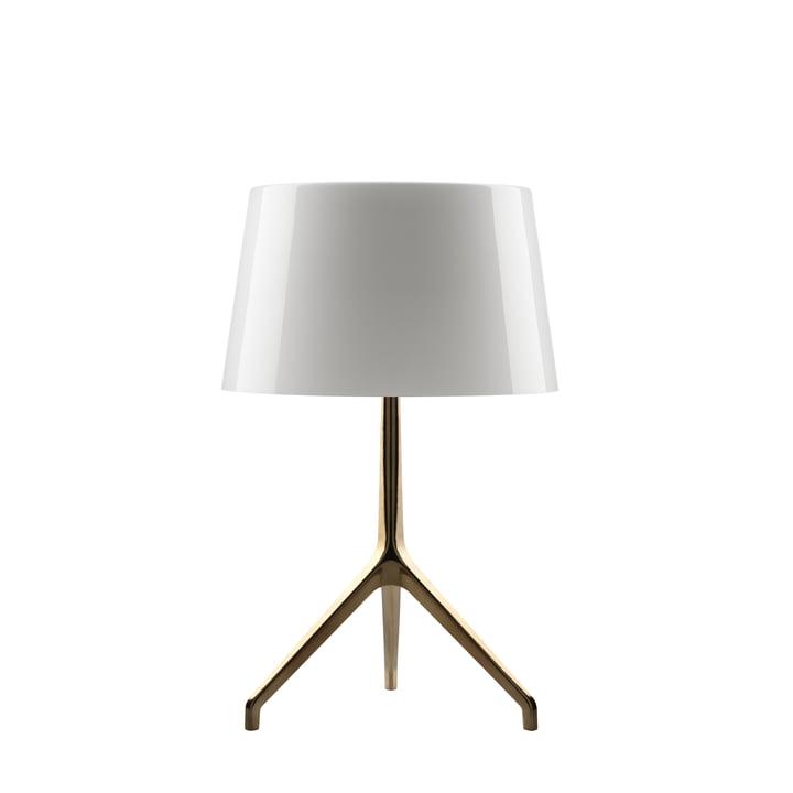Lumiere XXL + XXS bordlampe bronze/hvid