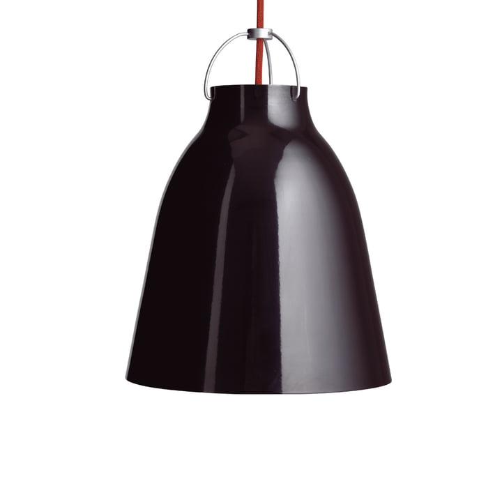 Caravaggio P2 pendel fra Fritz Hansen i skinnende sort