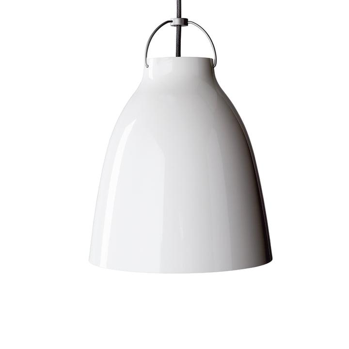 Caravaggio P2 pendel fra Lightyears i skinnende hvid