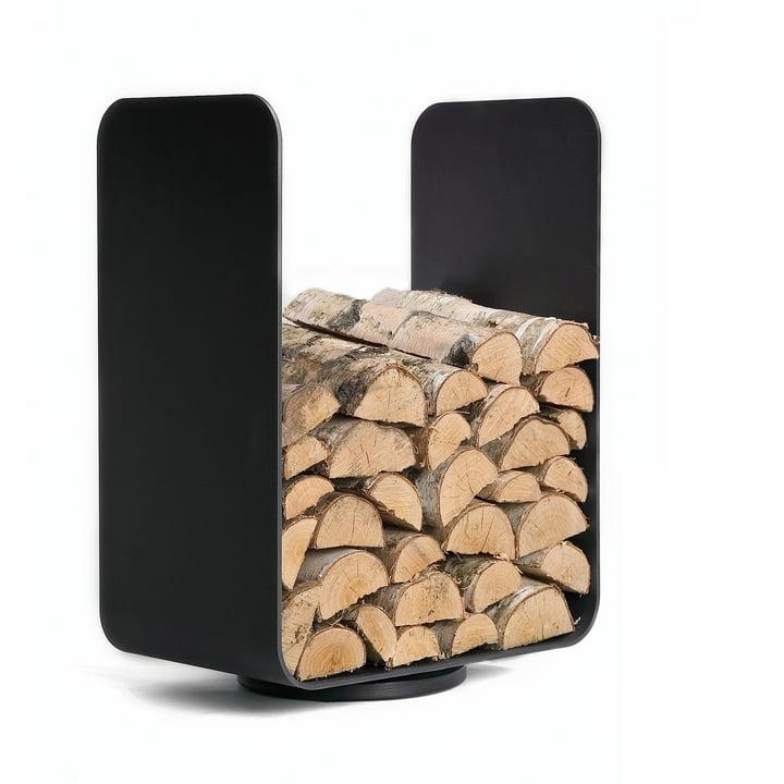 Baest – U-Turn stativ til opbevaring af brænde, stål, sort