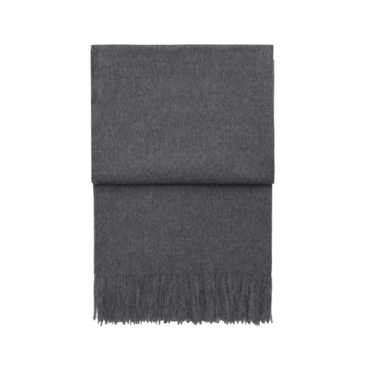 Luxury tæppe, grå af Elvang