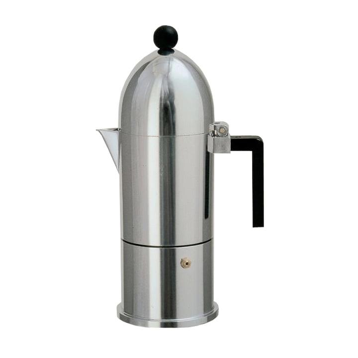 A di Alessi – La Cupola espressomaskine 9095, 15 cl, sort