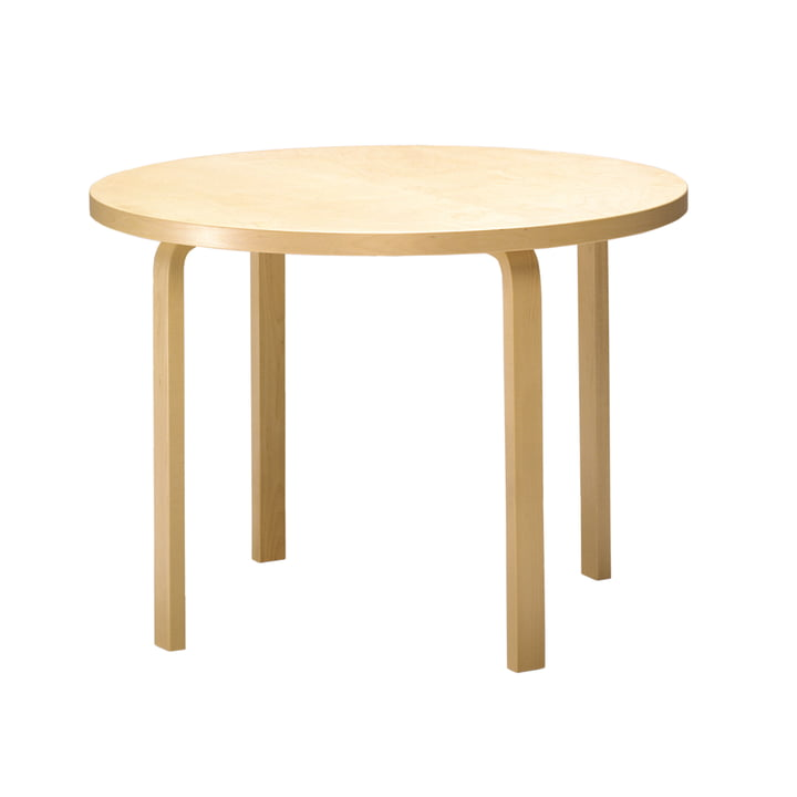 Artek – 90A rundt bord, enkeltbillede