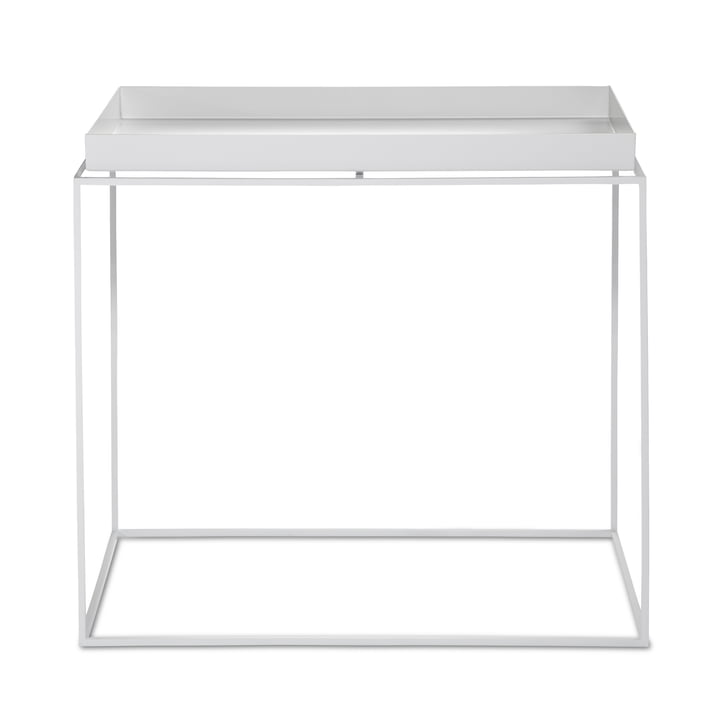 Hay – rektangulært bakkebord, 60 x 40 cm, hvid