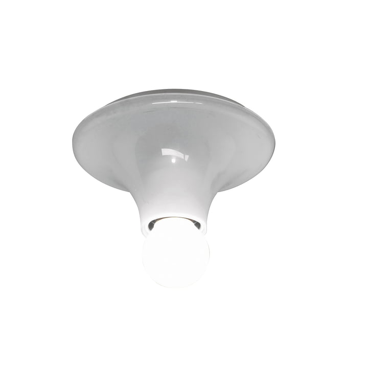Artemide Teti væg- og loftslampe, hvid