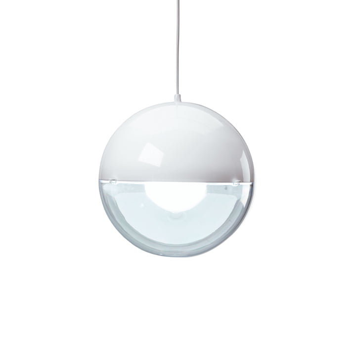 Koziol – Orion pendel, hvid/klar