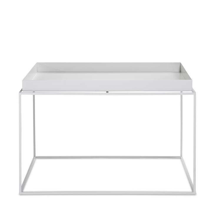 Hay – kvadratisk bakkebord, 60 x 60 cm, hvid