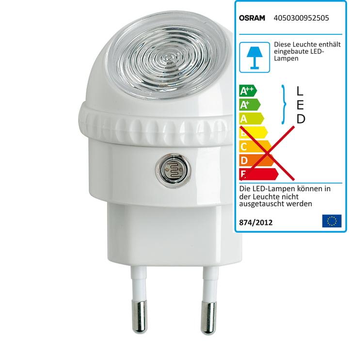 Osram Lunetta LED-natlampe, hvid