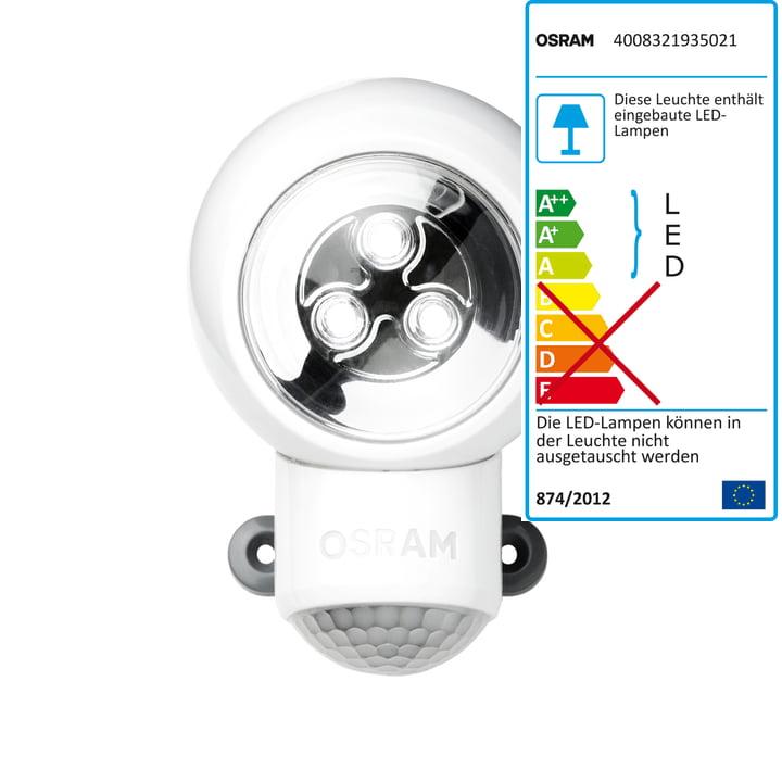 Osram Spylux multifunktionel LED-lampe, hvid