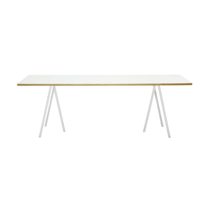 Hay Loop Stand bord, 160, hvidt
