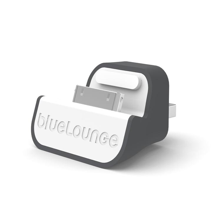 Bluelounge – Mini Dock, EU-version, hvid