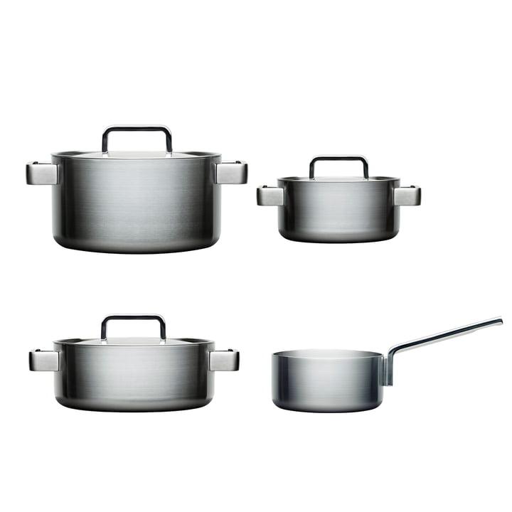 Tools, sæt med 4 dele: 1 stk. 2-liters kasserolle + 2-, 3- og 4-liters gryde