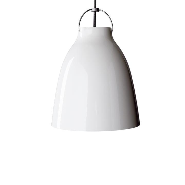 Caravaggio P1 pendel fra Lightyears i skinnende hvid