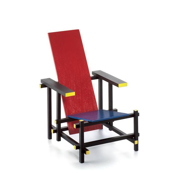 Vitra – Miniature Rood Blauwe stol