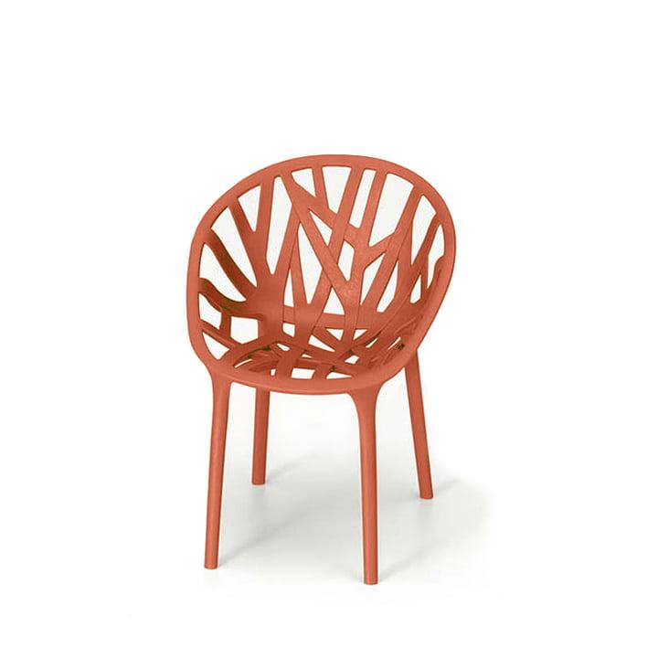 Vitra – miniature Vegetal stol, rød