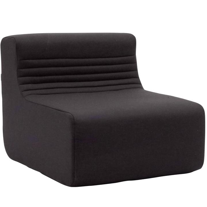 Softline – Loft Indoor modular sofa, enkelt-element, Felt mørkegrå