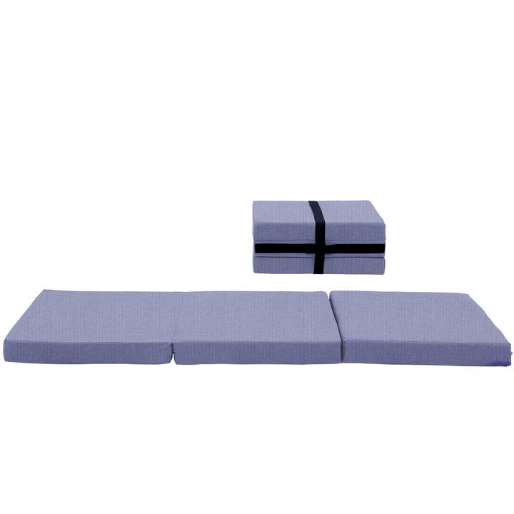 Softline – Handy kuffertmadras, Vision grå/blå (441)