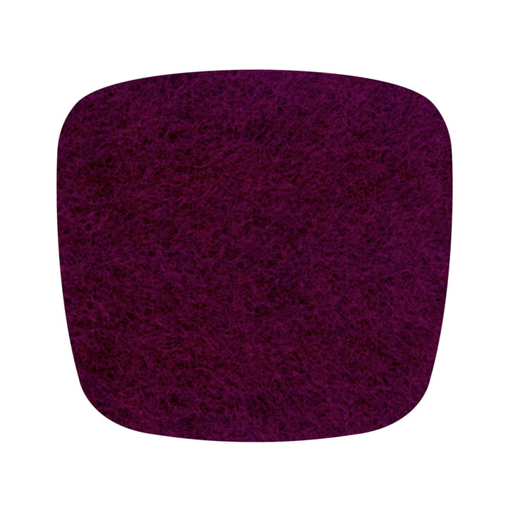 Hey Sign – filthynde til Eames Plastic Armchair, aubergine, 5 mm