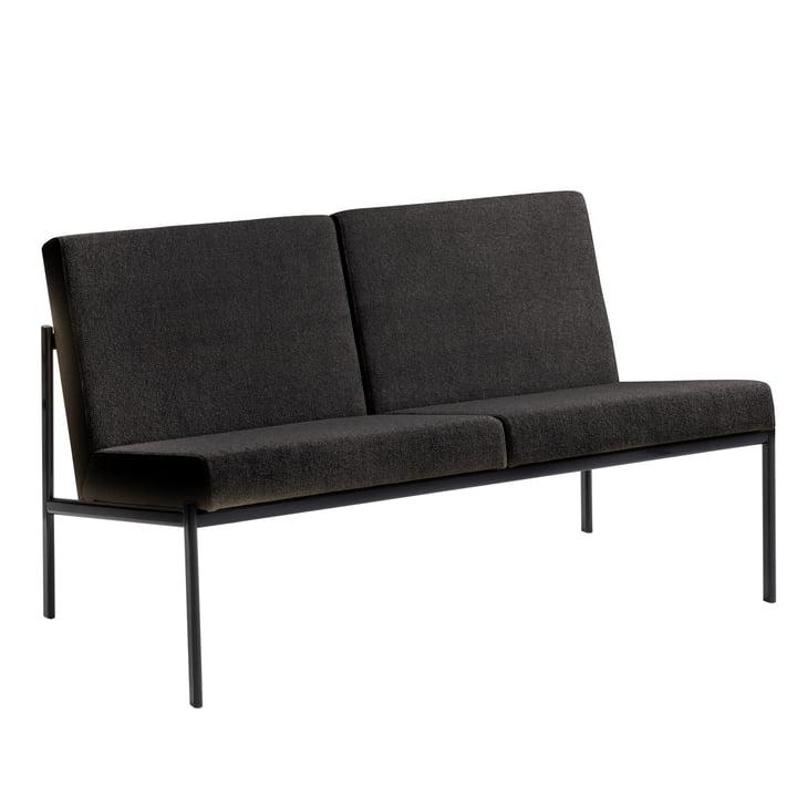 Artek – Kiki sofa 2-personers (Hallingdal 65 antracitgrå)