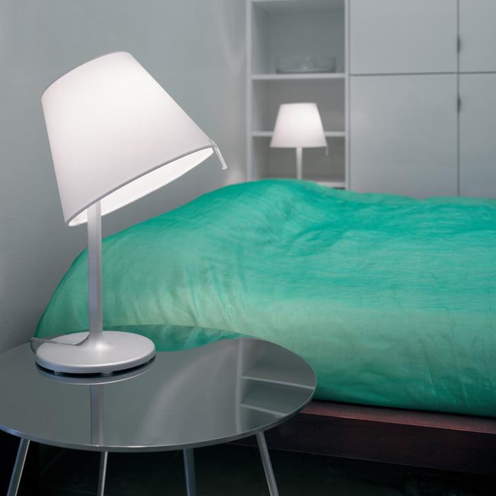 Artemide – Melampo Notte bordlampe, aluminiumsgrå