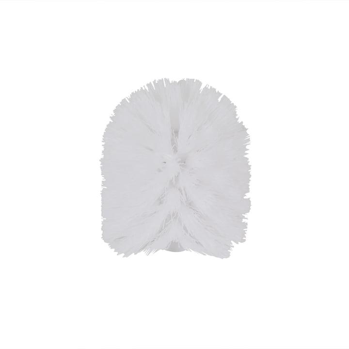 Depot4Design – Lunar løst toiletbørstehoved, hvid