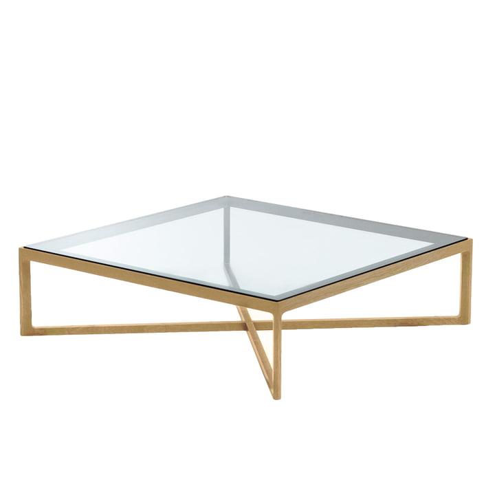Knoll – sofabord, eg/bordplade i glas