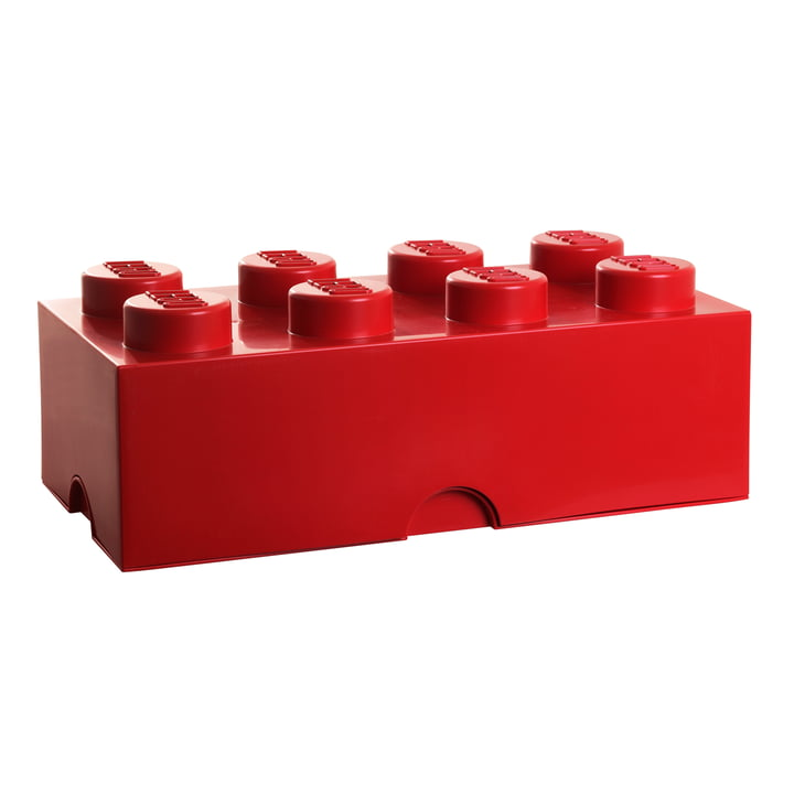 LEGO – Storage Box 8, rød