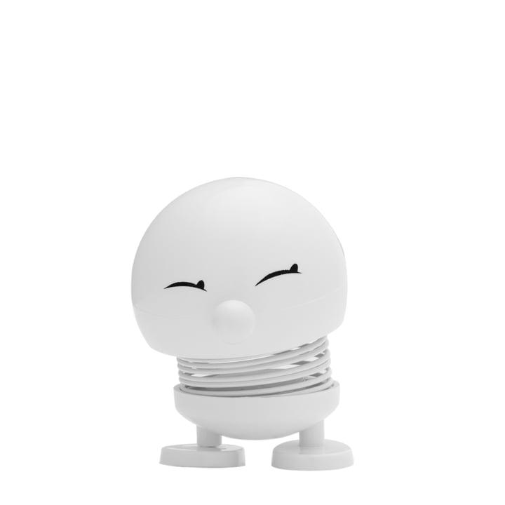 Hoptimist – Baby Bimble, hvid – forfra