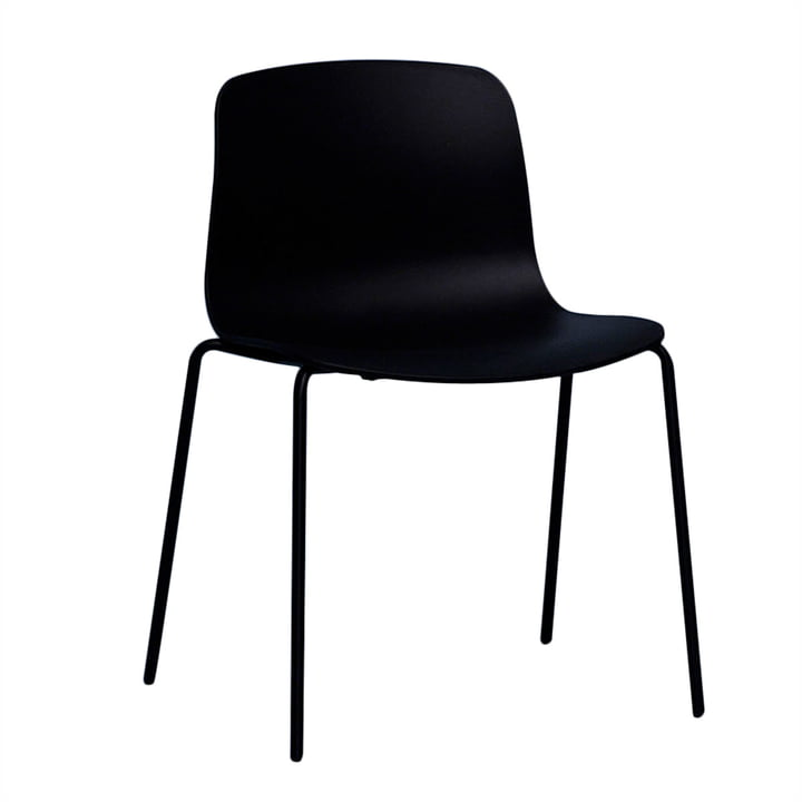 Hay – About a Chair AAC 16, aluminium sort / sort
